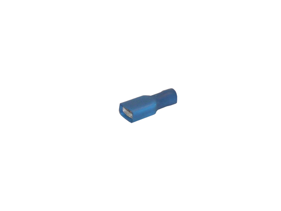 Cable tag blue, fully isolated [1542]