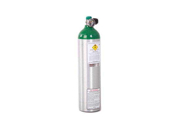 Mountain High Oxygen bottle aluminium [AL682]