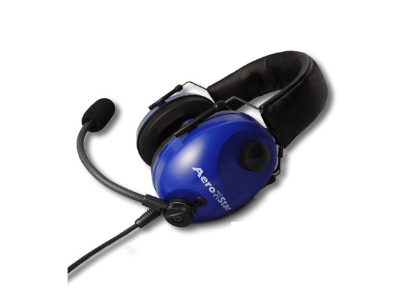 AeroStar headset Comfort Blauw [AS-HS-C-B]