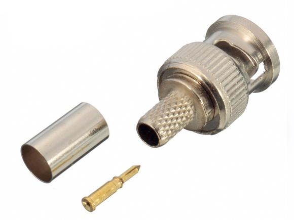 Connector crimp BNC-Male tbv AC5 [7721]