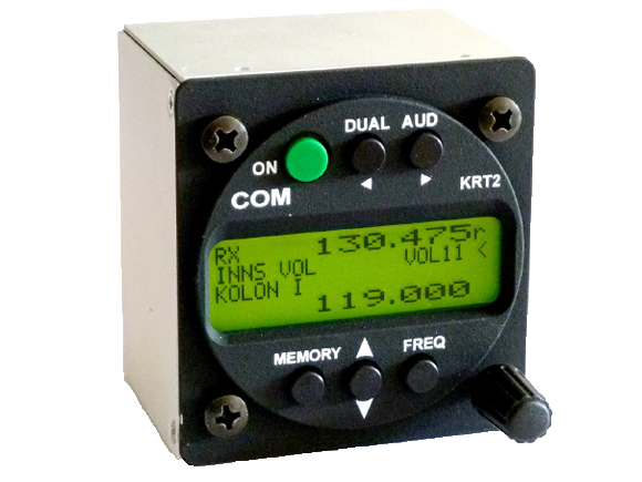 Dittel-Avionik second seat control-unit for KRT2 [KRTD]