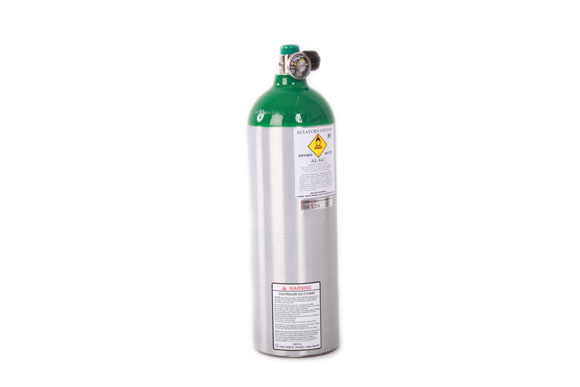 Mountain High Oxygen Bottle aluminium [AL647]
