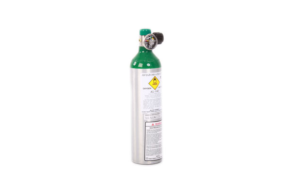 Mountain High Oxygen Bottle aluminium [AL180-DIN477]