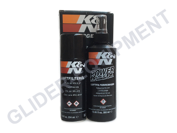 K&N airfilter cleaning kit & aerosol [99-5003]