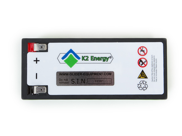 K2 Lithium-Iron-Phosphate (LFP) battery [K2B12V10EB]