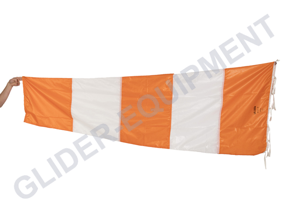 MarS Windsack Ø60cm/240cm orange/white