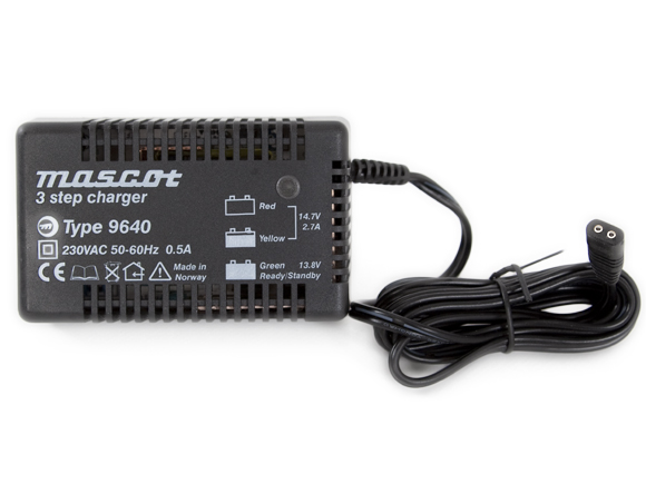 Mascot 3-step plugcharger [9640]