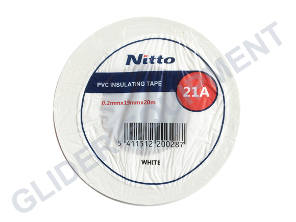 Nitto tape 19mm   1 ROLL [PVC21-19MMx20M-WIT]