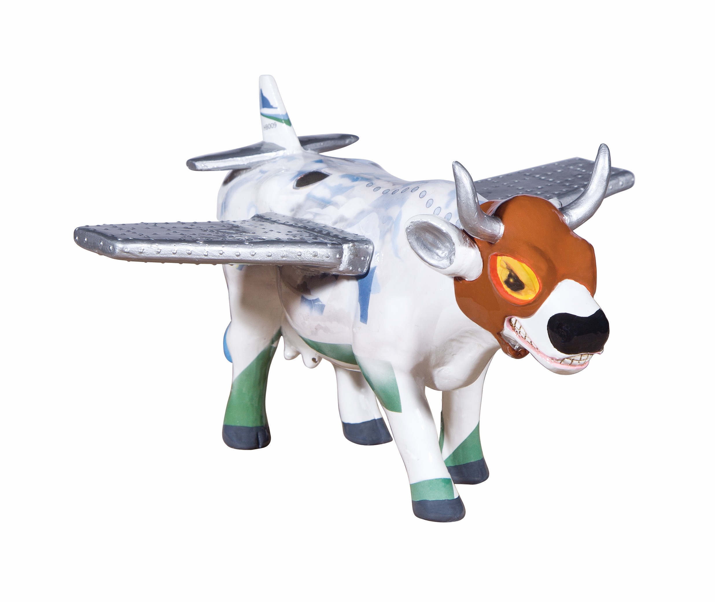 Cow Parade Boviator Medium [C-plane]