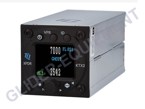 TQ-Avionics KTX2-S.V2 Mode-S transponder class-I 57mm [309140]