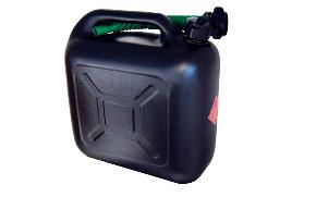 Jerry Can black, synthetic material 10L [01.100.26]