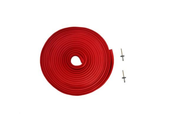 Cobra protectionstrip 15m class set red [529]