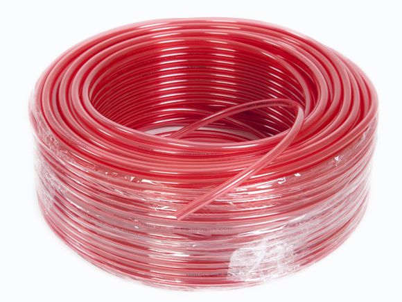 GE instrument tube red 10 METER [IS-5x8-HE-10M]