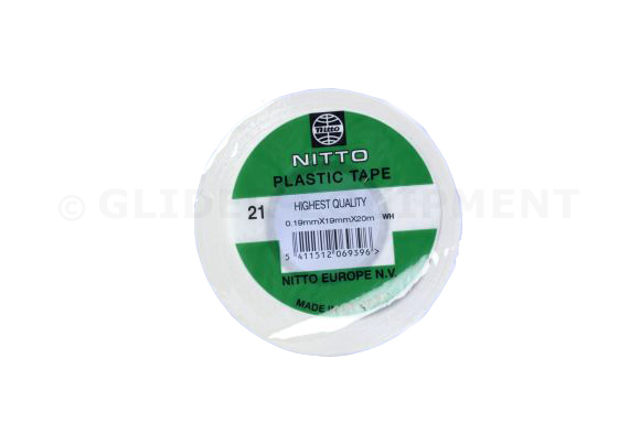 Nitto tape 25mm   8 ROLLS [PVC21-25MMx20M-WIT]