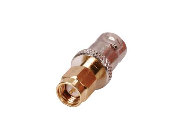 SMA male conduct plug BNC female gold-plated